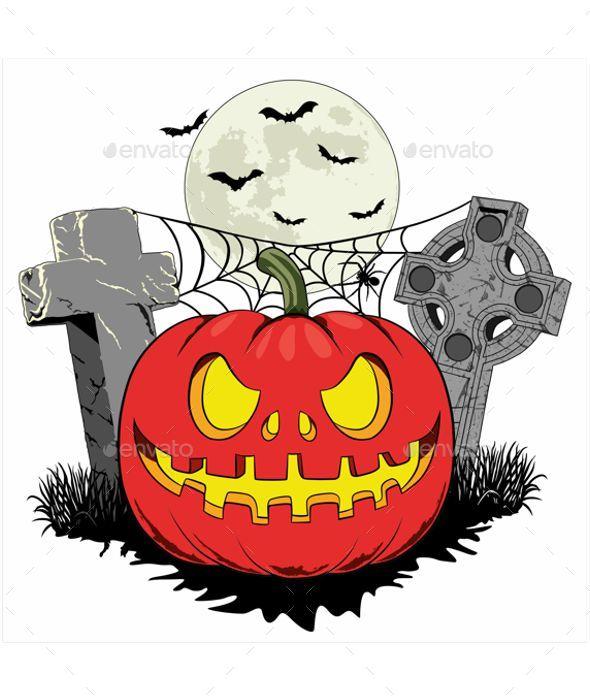 GraphicRiver Halloween Pumpkin 20826366