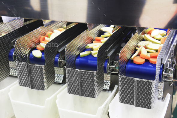 Food processing machine - Stock Photo - Images