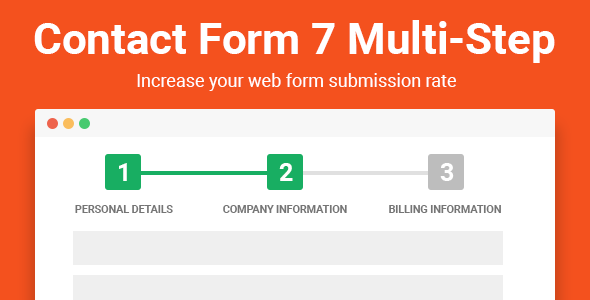 Contact Form Seven CF7 Multi-Step Pro - CodeCanyon Item for Sale