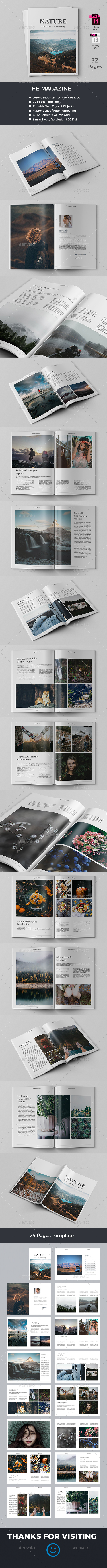 The Magazine - Magazines Print Templates