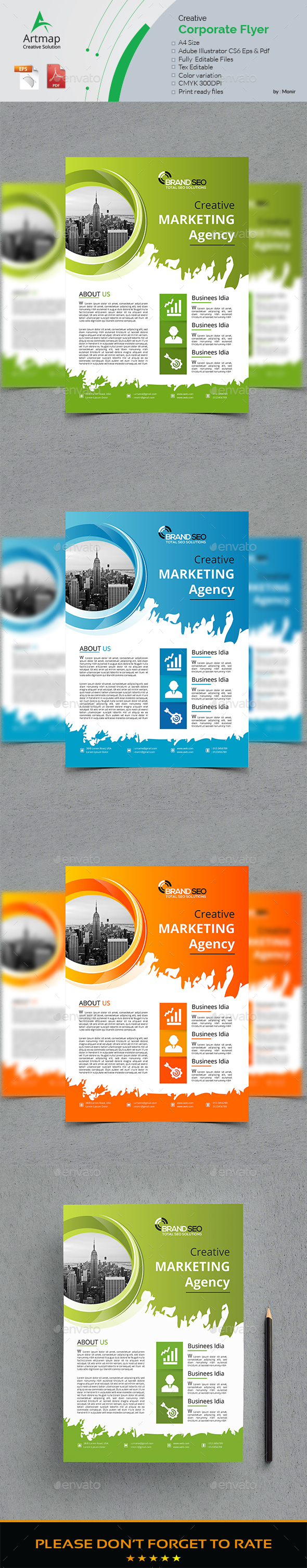 Modern Flyer - Flyers Print Templates