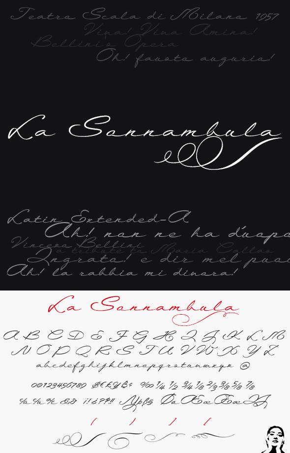 GraphicRiver La Sonnambula font 20826653
