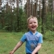Children Play Ball in Nature - VideoHive Item for Sale