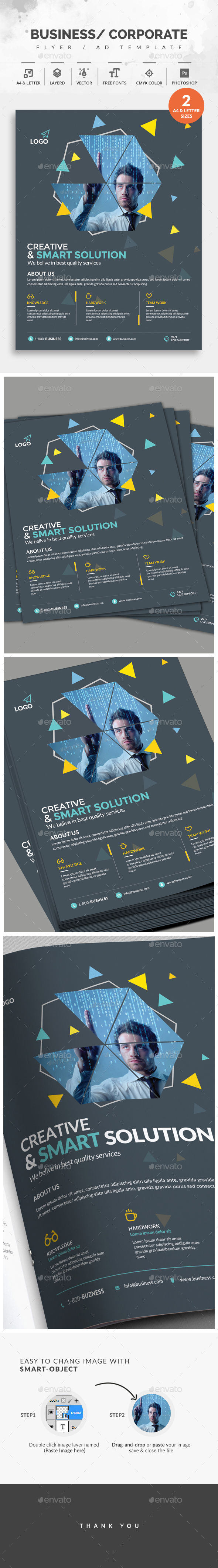 GraphicRiver Corporate Flyer 20826681