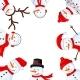 Snowman Border - GraphicRiver Item for Sale