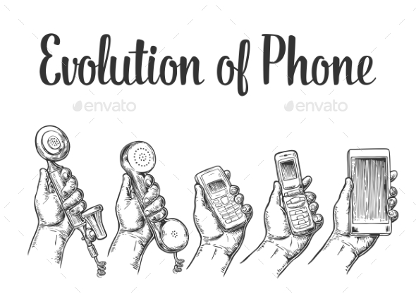Evolution of Communication Devices - Communications Technology