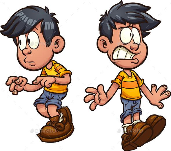 Cartoon Boy - People Characters