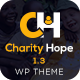 Charity Hope - Non-Profit & Fundraising WordPress Charity Theme