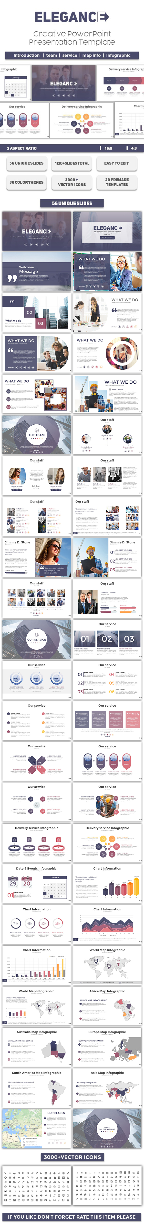 Elegance PowerPoint Template - PowerPoint Templates Presentation Templates
