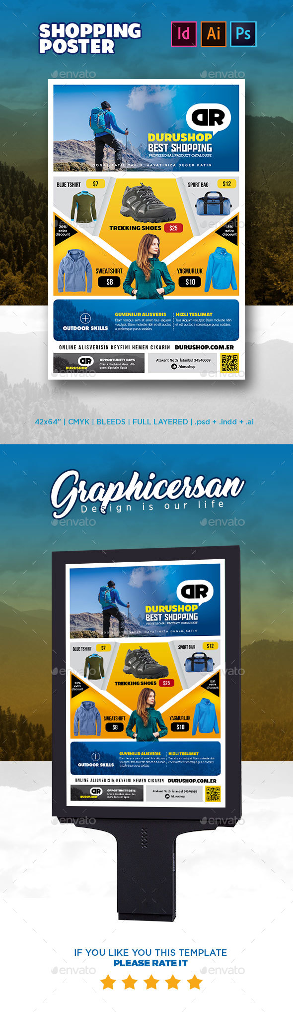 GraphicRiver Shopping Poster 20827415