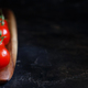 Cherry tomatoes on a wooden board - PhotoDune Item for Sale