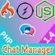 Chat Application - Codeigniter ( Socket.io) Node.js