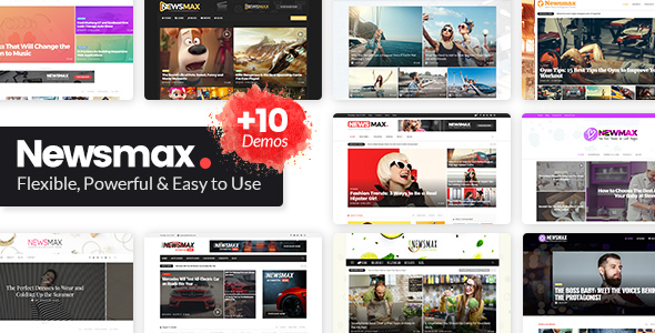 Image of Newsmax - Multi-Purpose News & Magazine Theme
