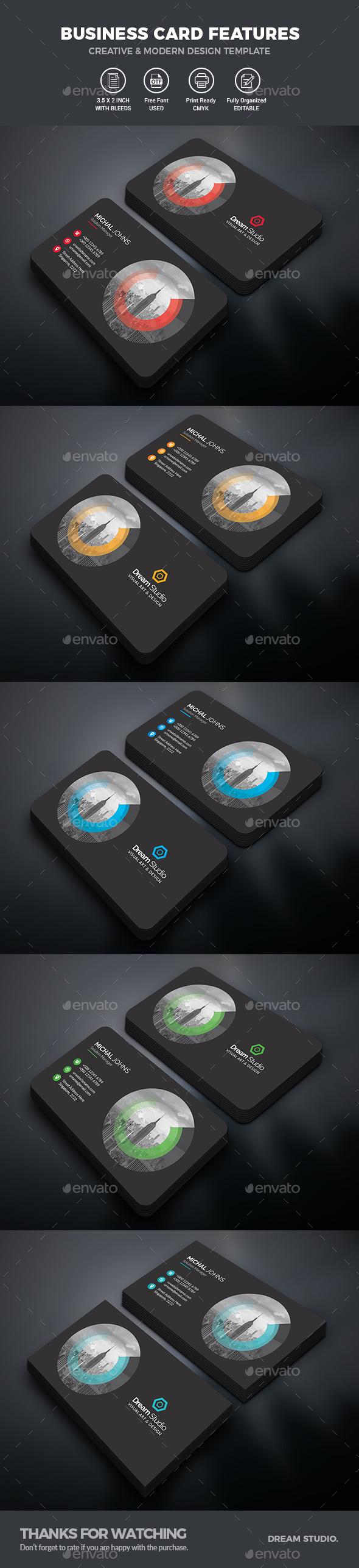 GraphicRiver Business Cards 20828012