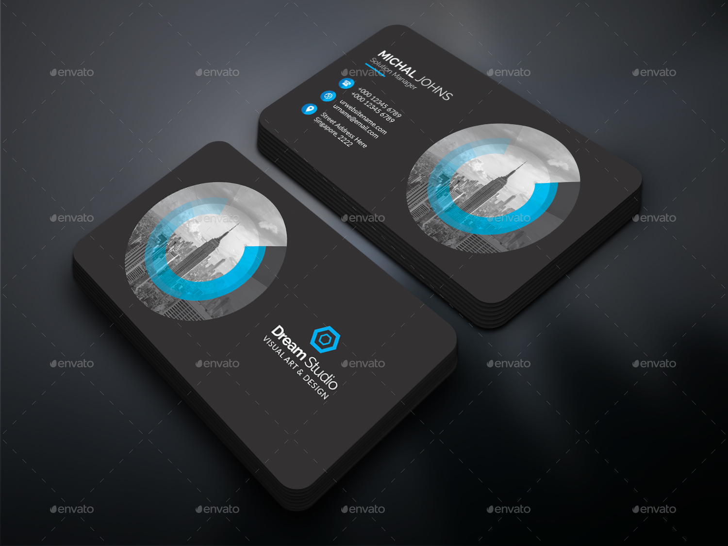 Business Cards By Dreamstudio Eg Graphicriver