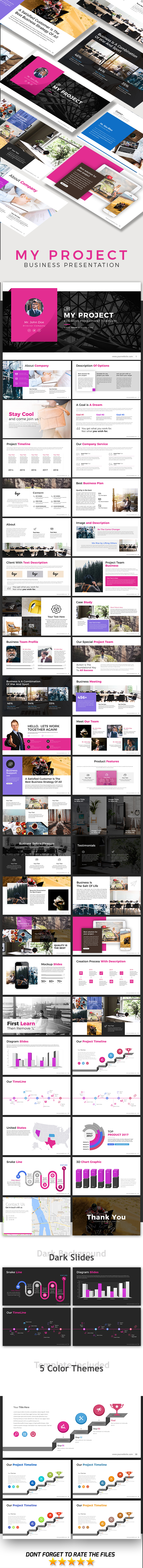 My Project - Business Presentation - Business PowerPoint Templates