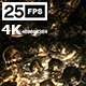 Flying On Stone Skulls 03 4K - VideoHive Item for Sale