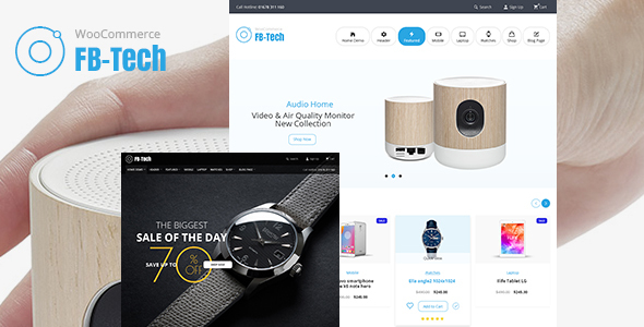Image of FB-Tech - RTL WooCommerce Theme