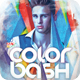Color Bash Party Poster / Flyer - GraphicRiver Item for Sale