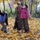 The Time of Year, Autumn. Children Playing in the Nature - VideoHive Item for Sale