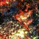 Abstract Organic Background Orange Multiscreen