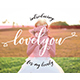 Lovelyou - GraphicRiver Item for Sale