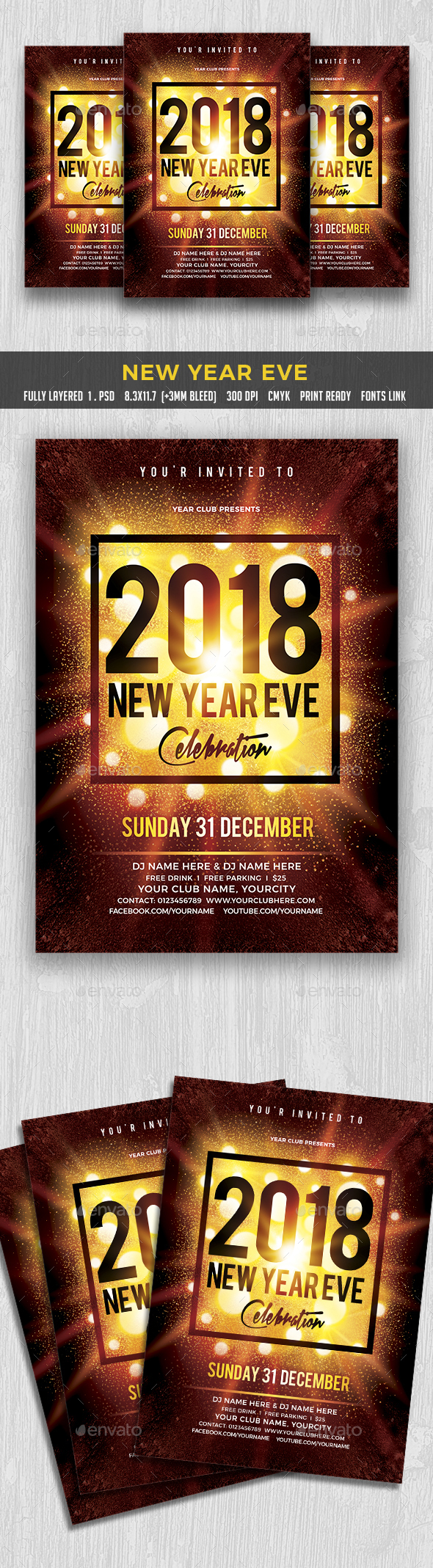 GraphicRiver New Year Eve 20828393