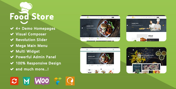 Image of Food Store - Responsive WooCommerce WordPress Theme