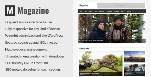 Magazine - Online News and Magazine CMS - CodeCanyon Item for Sale