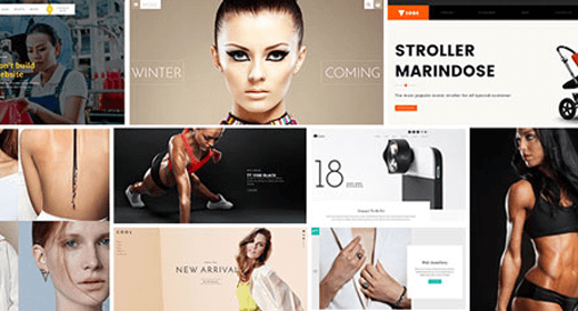 Most Popular PSD Template
