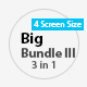 >Big Bundle 3 Three in One Power Point Template