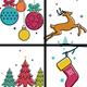 Christmas Cards Backgrounds - GraphicRiver Item for Sale