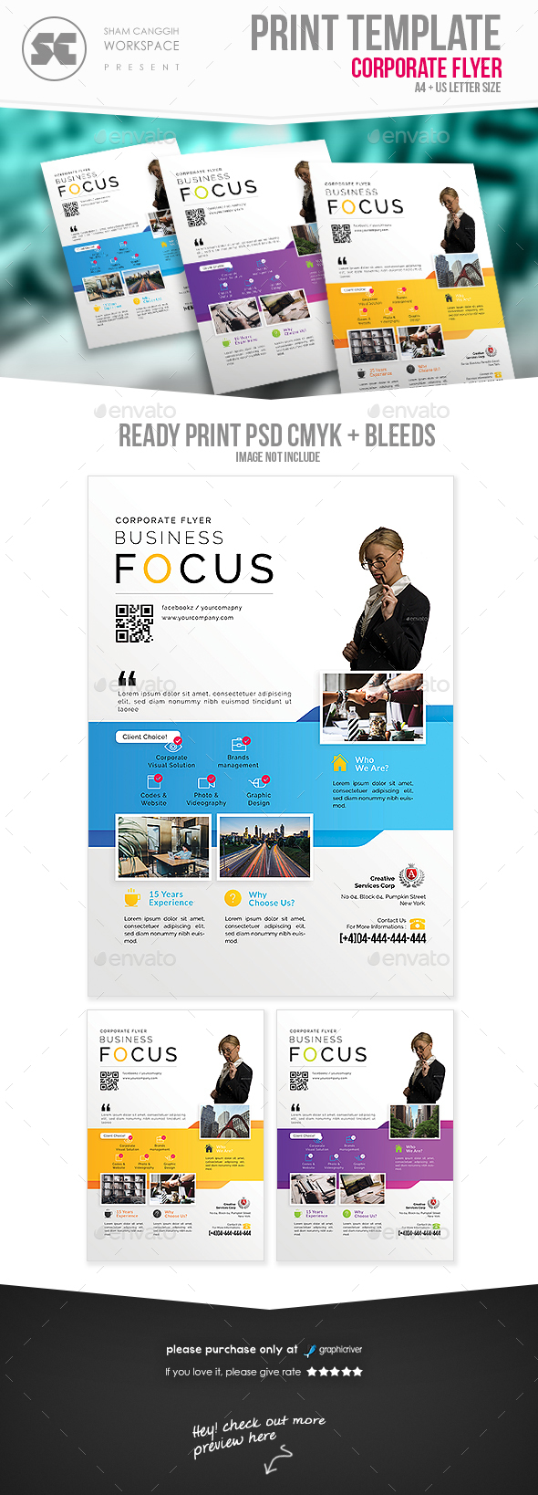 GraphicRiver Business Flyer 20829096