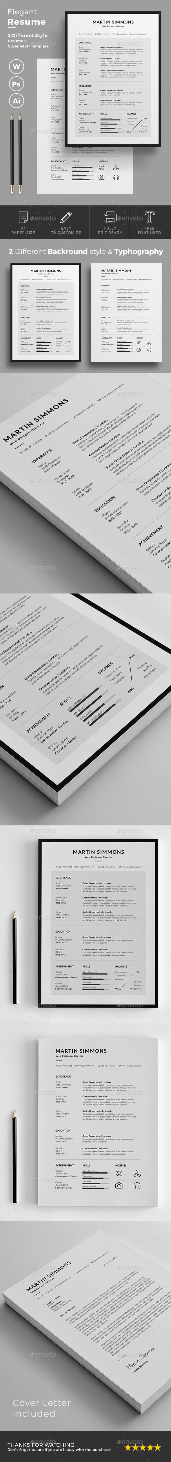 GraphicRiver Resume 20829106