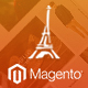 LaParis Simple Creative Premium Magento Theme - ThemeForest Item for Sale