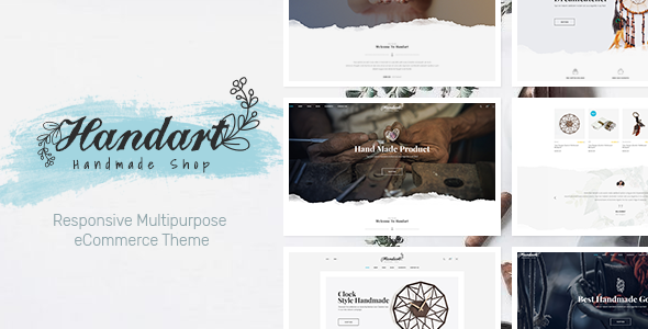 Image of HandArt - Prestashop 1.7 Theme for Handmade Artists and Artisans