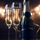 Two Flutes with Sparkling Wine - VideoHive Item for Sale
