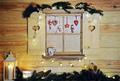 wooden christmas window - PhotoDune Item for Sale