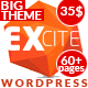Excite - Clean Responsive Multi-Purpose WordPress Theme - ThemeForest Item for Sale