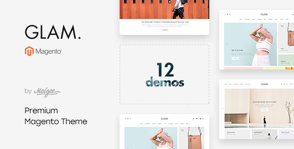 glam - multi-purpose responsive magento 2 and magento 1 theme (magento) Glam – Multi-Purpose Responsive Magento 2 and Magento 1 Theme (Magento) 01 preview