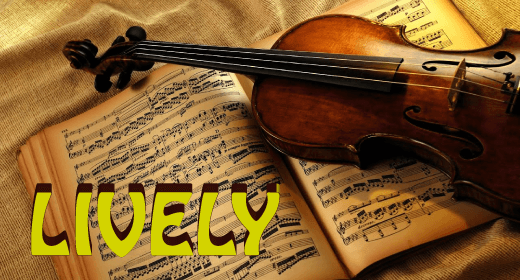LIVELY ORCHESTRAL MUSIC