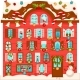 Christmas House with Numbered Advent Calendar - GraphicRiver Item for Sale