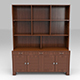 Wooden Cabinet - 3DOcean Item for Sale