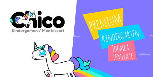 Image of Chico - Premium Kindergarten and School Joomla Template