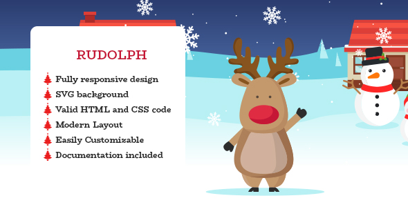 Rudolpn - A Christmas E-Card - CodeCanyon Item for Sale
