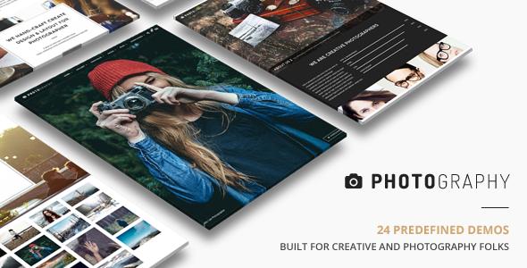 Photography | Responsive Photography Theme