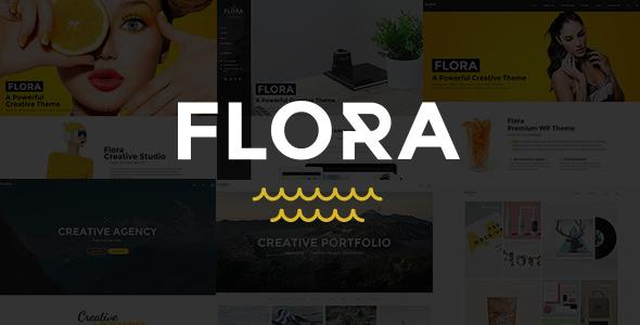 Flora - Responsive Creative WordPress Theme - Portfolio Creative
