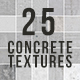 25 Seamless Concrete Textures - 3DOcean Item for Sale