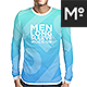 3 Types Men Longsleeve Mock-up - GraphicRiver Item for Sale