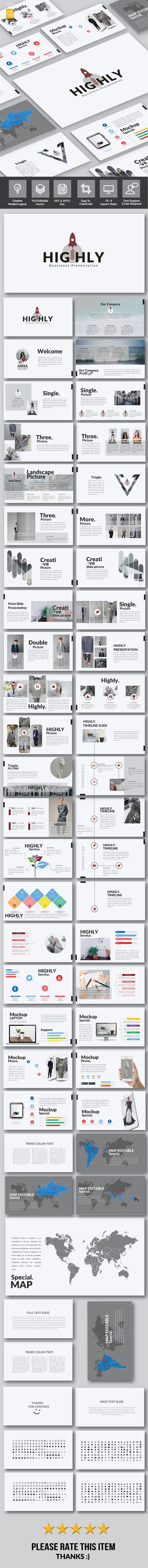 Highly - Google Slide - Google Slides Presentation Templates